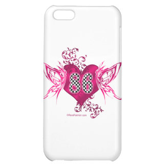 86 racing number butterflies iPhone 5C covers