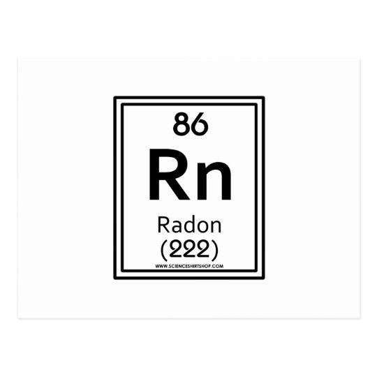 86 Radon Postcard