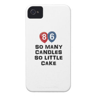 86 year old candle designs iPhone 4 Case-Mate case
