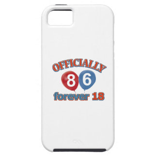 86th birthday designs iPhone SE/5/5s case