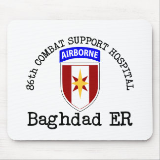 86th CSH Baghadad ER Mouse Pad