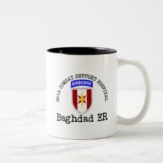 86th CSH Baghadad ER Two-Tone Coffee Mug