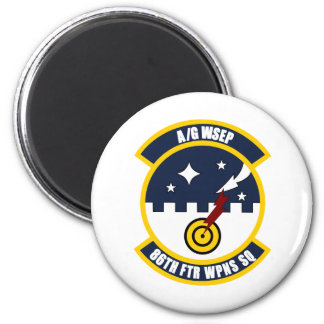 86th FTR WPNS Squadron Magnets