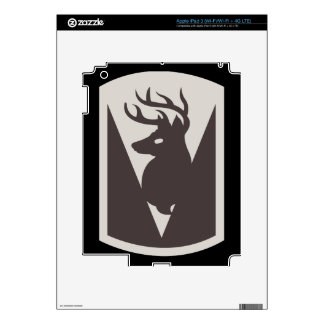 86th Infantry Brigade Combat Team (BCT) Decals For iPad 3