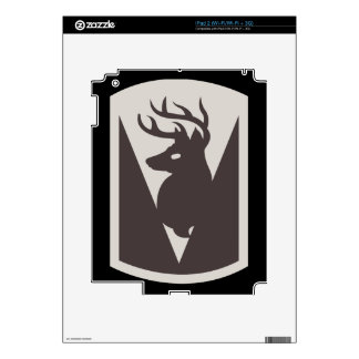 86th Infantry Brigade Combat Team (BCT) iPad 2 Decal