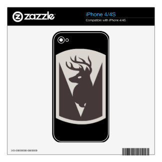 86th Infantry Brigade Combat Team (BCT) Skin For The iPhone 4S