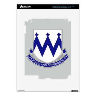 86th Infantry Regiment - Courage and Dependability iPad 3 Decal