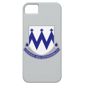 86th Infantry Regiment - Courage and Dependability iPhone SE/5/5s Case