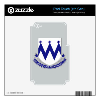 86th Infantry Regiment - Courage and Dependability iPod Touch 4G Skins