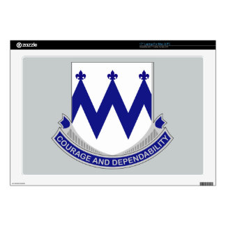 86th Infantry Regiment - Courage and Dependability Laptop Skin