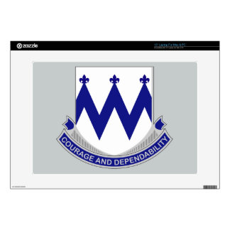 "86th Infantry Regiment - Courage and Dependability Skin For 15"" Laptop"
