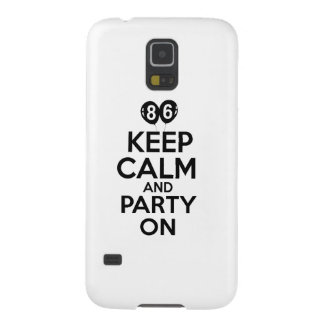 86th year birthday designs case for galaxy s5