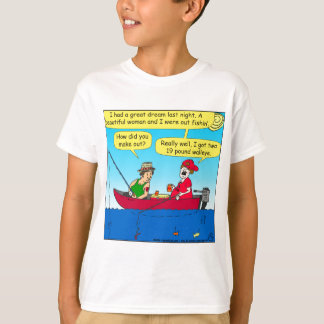 870 how did you make out fishing cartoon T-Shirt