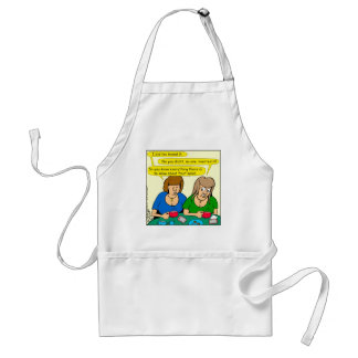 873 Who invented fruit salad cartoon Adult Apron