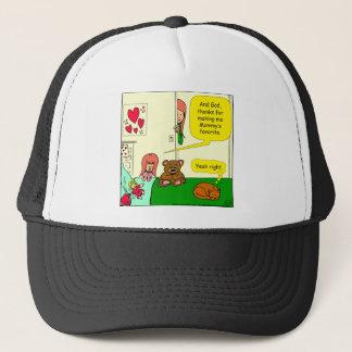 874 Mom's favorite child cartoon Trucker Hat