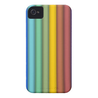 8774-coloured-pencils-2-vector RAINBOW COLORFUL PE Case-Mate iPhone 4 Cases