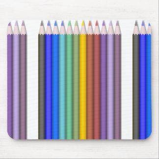 8774-coloured-pencils-2-vector RAINBOW COLORFUL PE Mousepads