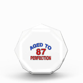 87 Aged To Perfection Award