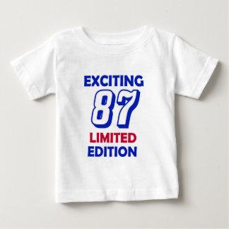 87 Birthday Design Tshirt