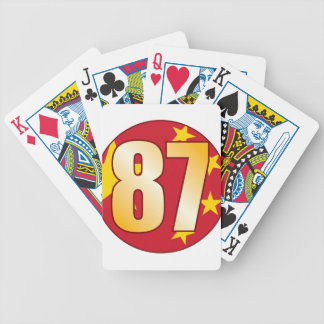 87 CHINA Gold Bicycle Playing Cards