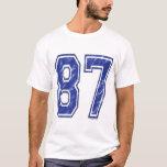 87 Custom Jersey T-Shirt