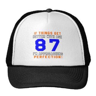 87 diseños del cumpleaños de la perfección gorros