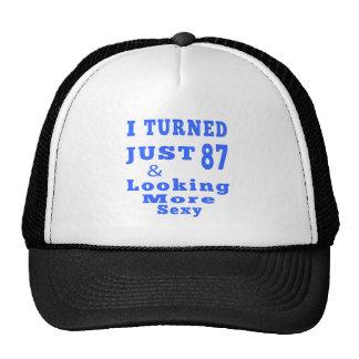 87 diseños del cumpleaños gorras