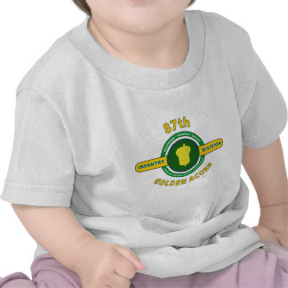"""87.o DIVISIÓN de INFANTERÍA """"BELLOTA DE ORO """" Camiseta"""