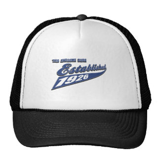 87.os diseños del cumpleaños gorra
