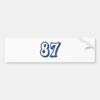 87 PEGATINA PARA AUTO