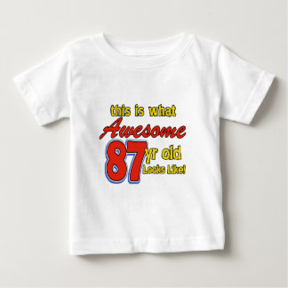 87 year old designs t-shirt