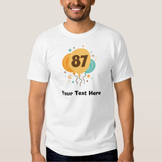 87th Birthday Party Gift Idea T-shirt