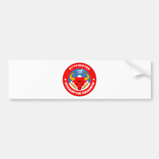 87th Fighter Interceptor Squadron Bumper Sticker