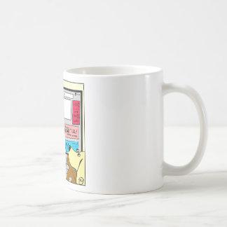 883 Search engine diagnosis cartoon Coffee Mug