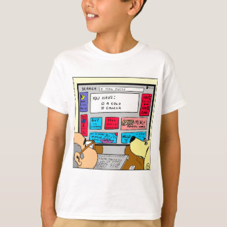 883 Search engine diagnosis cartoon T-Shirt