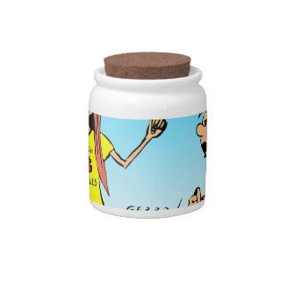 887 nerd wins argument cartoon candy jar