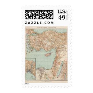8889 Turquía, Siria, Palestina Sello