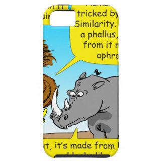 889 Rhino phallus cartoon iPhone SE/5/5s Case