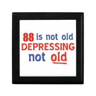 88 años no son viejos cajas de joyas