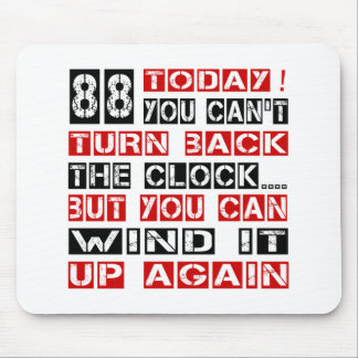 88 Birthday Designs Mouse Pad