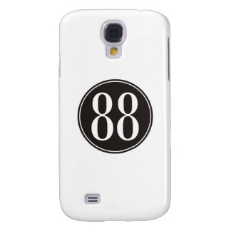 #88 Black Circle Samsung S4 Case