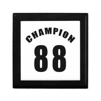 88 diseños del campeón caja de regalo