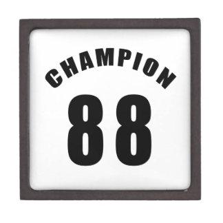 88 diseños del campeón caja de joyas de calidad