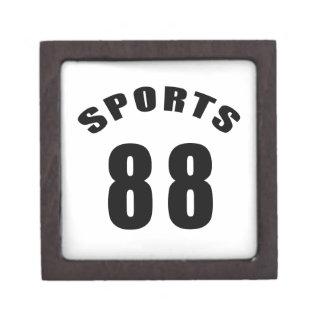 88 diseños del cumpleaños de los deportes cajas de joyas de calidad