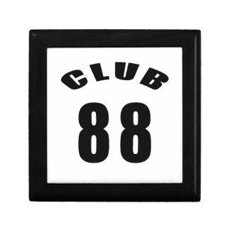 88 diseños del cumpleaños del club caja de recuerdo