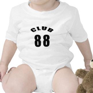 88 diseños del cumpleaños del club camisetas