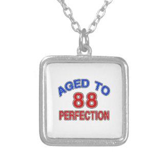 88 envejecido a la perfección colgante cuadrado