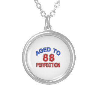 88 envejecido a la perfección colgante redondo