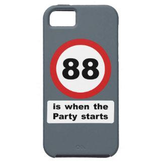 88 es cuando el fiesta comienza iPhone 5 carcasas