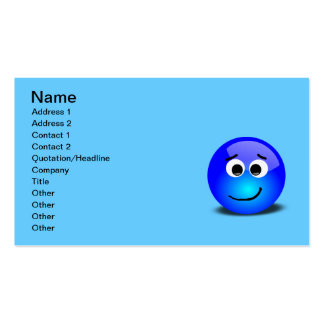 88-Free-3D-Apprehensive-Smiley-Face-Clipart-Illust Business Card